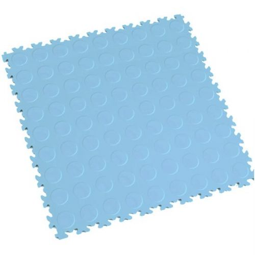 Light Blue Cointop - Motolock Interlocking Floor Tile